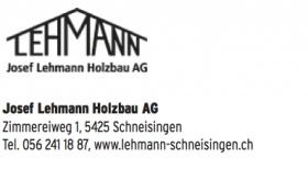 Josef Lehmann Holzbau AG
