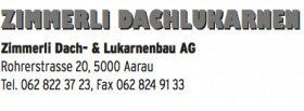 Zimmerli Dach- & Lukarnenbau AG