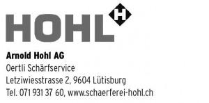 Arnold Hohl AG